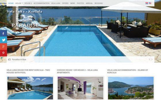 Kuća za odmor Paradise Vela Luka