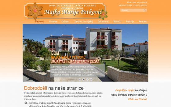 Dom Majka Marija Petković