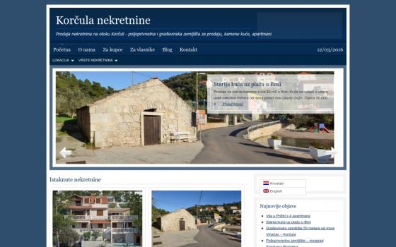 Prodaja nekretnina na otoku Korčula