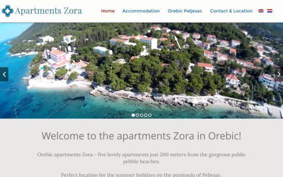 Apartmani Zora – Orebić