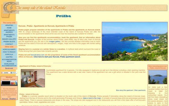 Prizba net Izrada web stranica Andreis