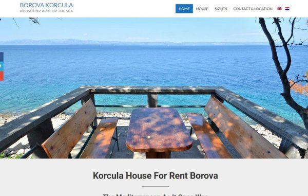 Korcula House For Rent Borova Korcula Holiday House